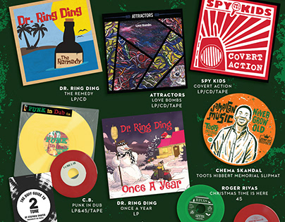 Jump Up Records, 2020 Year End Promo