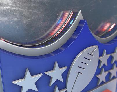 Element 3D Sports logo Opener