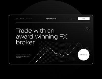 Trading Services Website