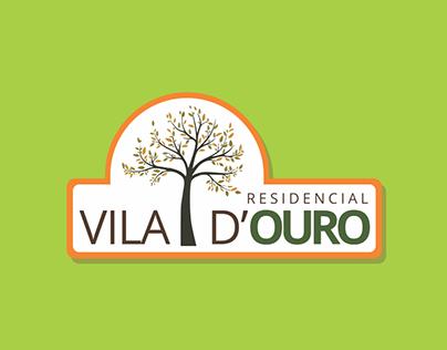 Artes para peças publicitárias Residencial VIla D'Ouro