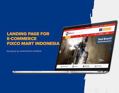 Fixco Mart E-commerce Website