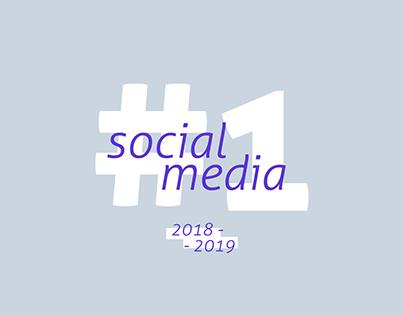 SOCIAL MEDIA #1 | 2018 - 2019