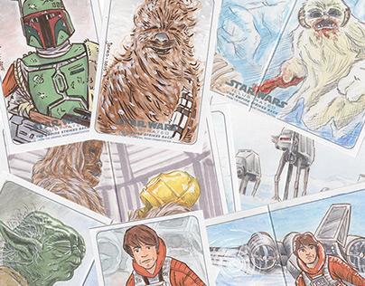 Empire Strikes Back Sketch Cards