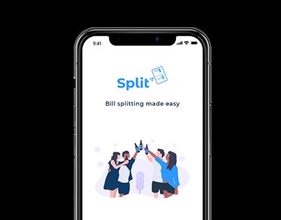 Split - A bill splitting app