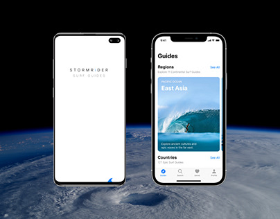 Stormrider Surf Guides | iOS & Android Prototypes