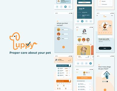UI/UX DESIGN PROJECT - Puppy App