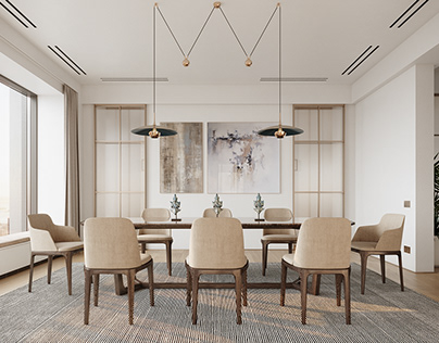 CGI: Luxurious Manhattan Apartment