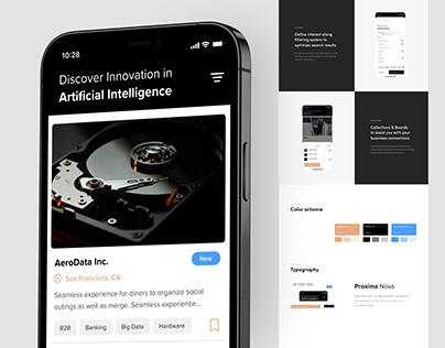 UI/UX Design – World of Possibilities App