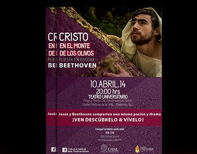 Cristo en el Monte de los Olivos