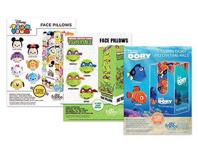 Sales Sheets & Display Designs