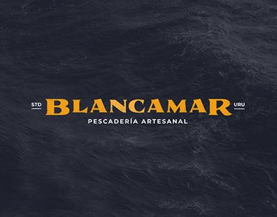 Blancamar – Logotype of a premium fish market