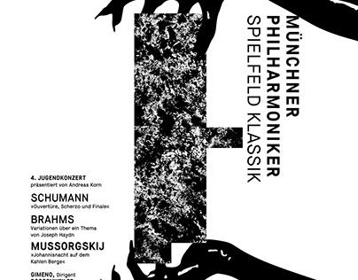 Munich Philharmonic Poster Illustration