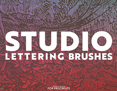 Lettering Brushes for Procreate