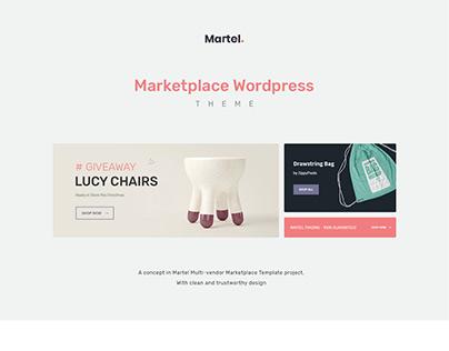 Martel - Marketplace WordPress Theme