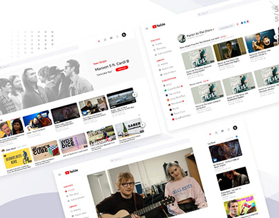 Youtube - Redesign Concept 2018