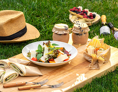 Picnic - food photography