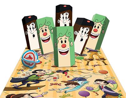 Circo - Ilustración infantil