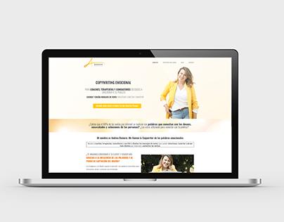 Andrea Romer - Wordpress site
