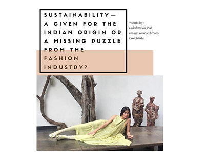 Sustainability, a familiar concept in India?
