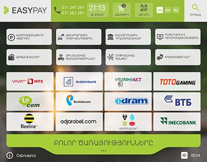 EasyPay Kiosk UI/UX