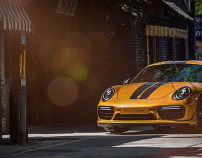Porsche 911 Turbo S Exclusive In Beijing