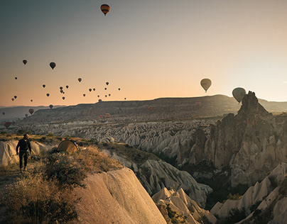 Cappadocia From The Sky