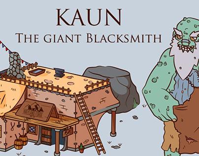 Kaun the Giant Blacksmith