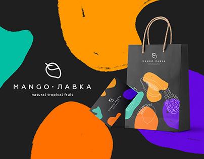 Фирменный стиль Mango Лавка