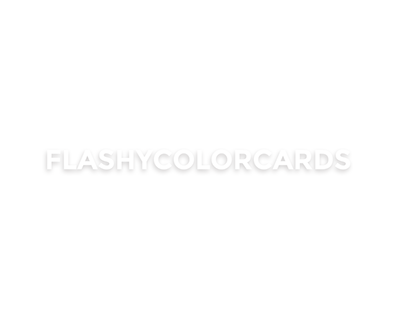 Flashy color cards