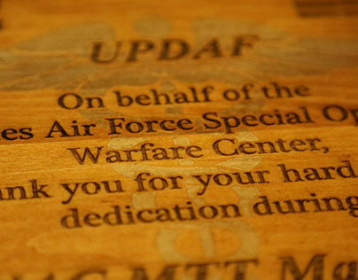 UPDAF Military Plaques
