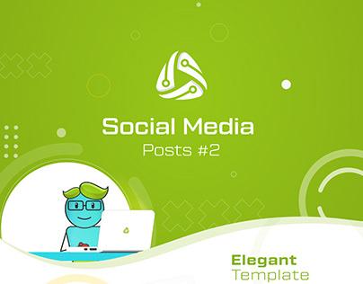 Social Media Posts Designs for Aura 2020