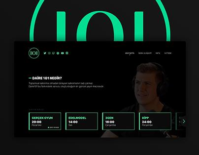 Daire 101 Website UI Redesign