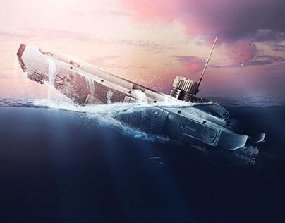 U-BOAT 42 Submarine