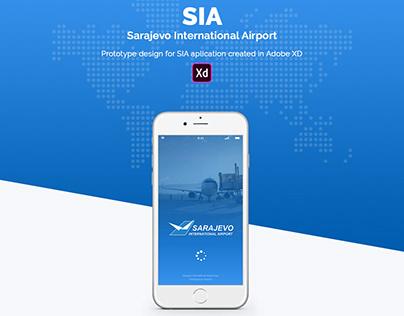 SIA Airport UX/UI App