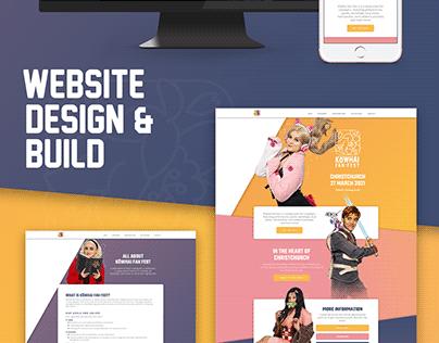 Kōwhai Fan Fest | Branding and Web Design
