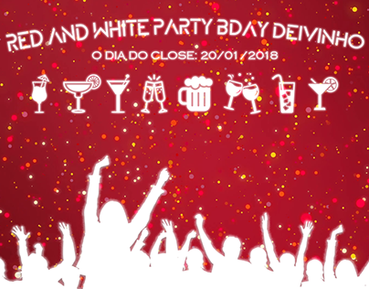 RED AND WHITE PARTY