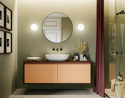 BABATO | Renovated Loft | Renderings, Interior Design