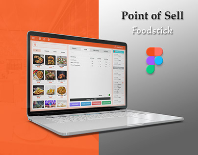 Point of Sell Software UI Design (Figma)