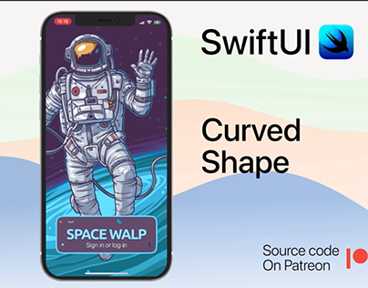 Curved shape in swiftUI