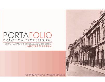 PRÁCTICA PROFESIONAL MINISTERIO DE CULTURA