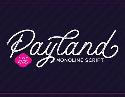 Payland Monoline Script