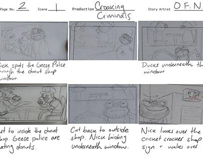 Croaking Criminals Animatic