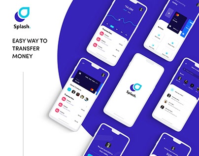 Splash. – transfer money app & UI Kit