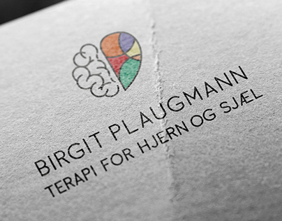 Birgit Plaugmann Psychotherapist -Visual Identity