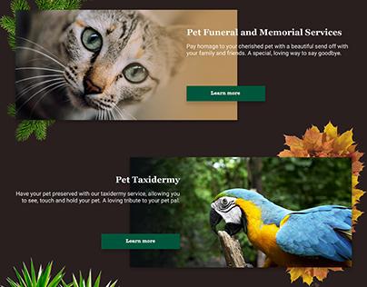 myPetPals - website design