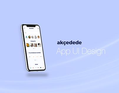 Akçedede UI Design