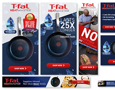 Tfal Cookware Google Display Ads