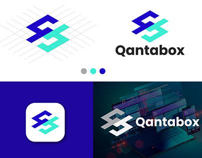 qantabox logo design, qb logo