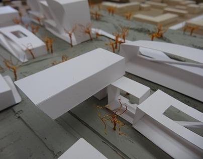 Healthy Lifestyle Urban Design – Massing Model