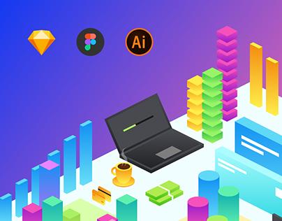 Business Illustration Kit